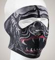 FM12<br>Alien Monster Face mask with velcro strap on back