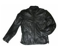 DMJ 796-01<br>Men's Cowhide Racer Jackets