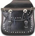 DSD4011-PV<br>PVC Saddlebag With Zipoff & Q-Release